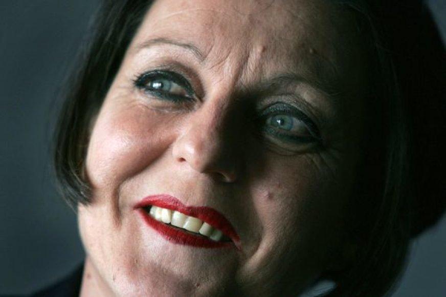 Nobelio literatūros premijos laureatė Herta Mueller