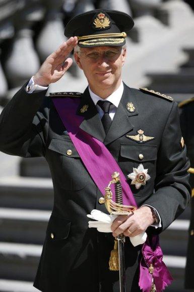 Belgijos karalius Philippe'as