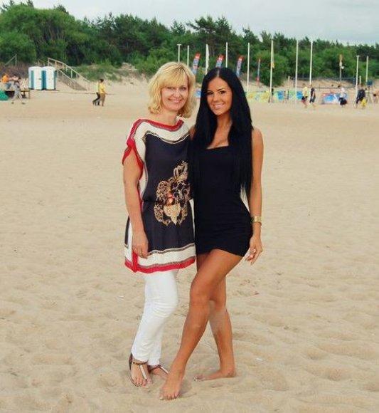 Dalia Burlinskienė ir Indrė Burlinskaitė