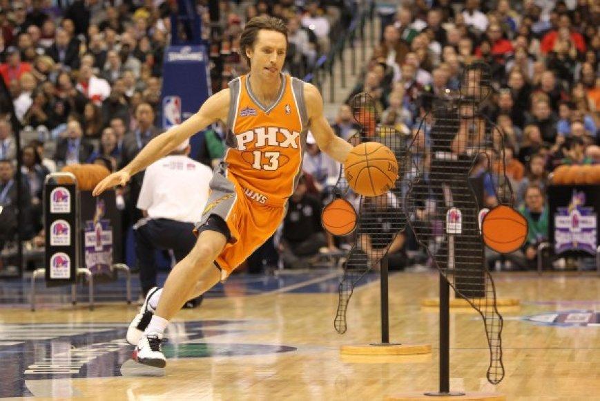 S.Nashas šiemet laimėjo analogišką turnyrą NBA lygos Žvaigždžių dienoje