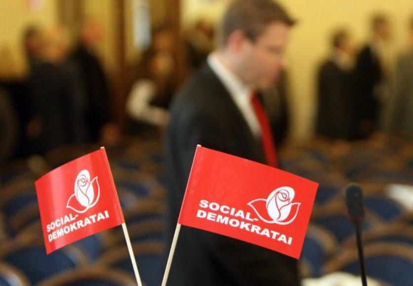 Socialdemokratų atributika