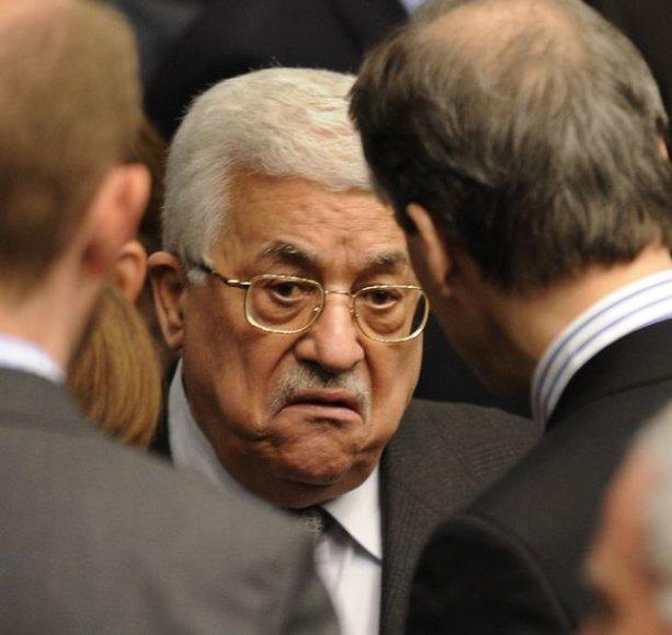 Palestinos prezidentas Mahmudas Abbas