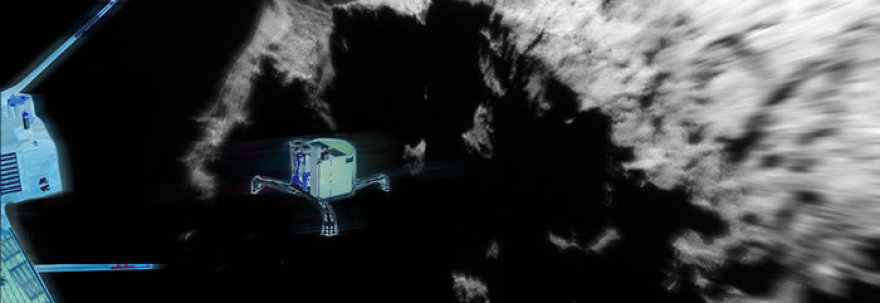 """Kosminis zondas """"Rosetta"""" buvo paleistas dar 2004 m."""