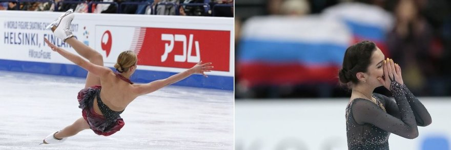 J.Medvedeva ir A. Pogorilaja – du skirtingi likimai pasaulio čempionate