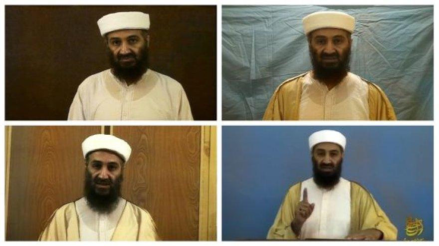Osama bin Ladenas filmuotoje medžiagoje