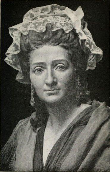 Anna Maria Tussaud taip atrodė, sulaukusi 42 metų.