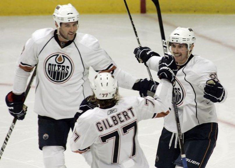 """""""Oilers"""" šventė įspūdingą pergalę"""