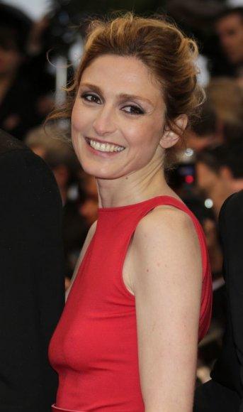 Aktorė Julie Gayet
