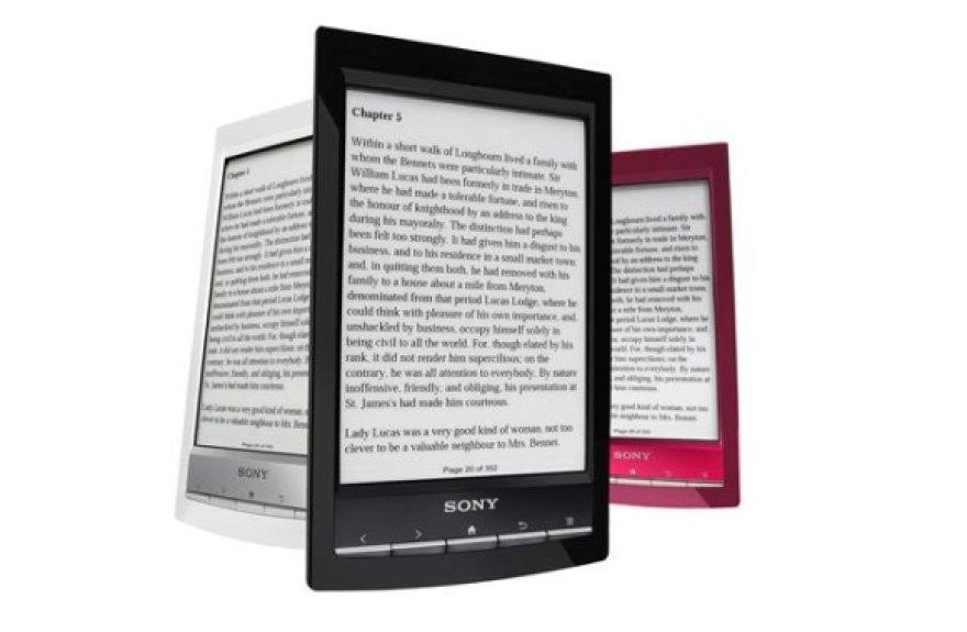 """Elektroninių knygų skaityklė """"Sony Reader Wi-Fi"""""""