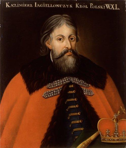 Didysis kunigaikštis Kazimieras tęsė Vytauto Didžiojo politiką dalinti žemes bajorams