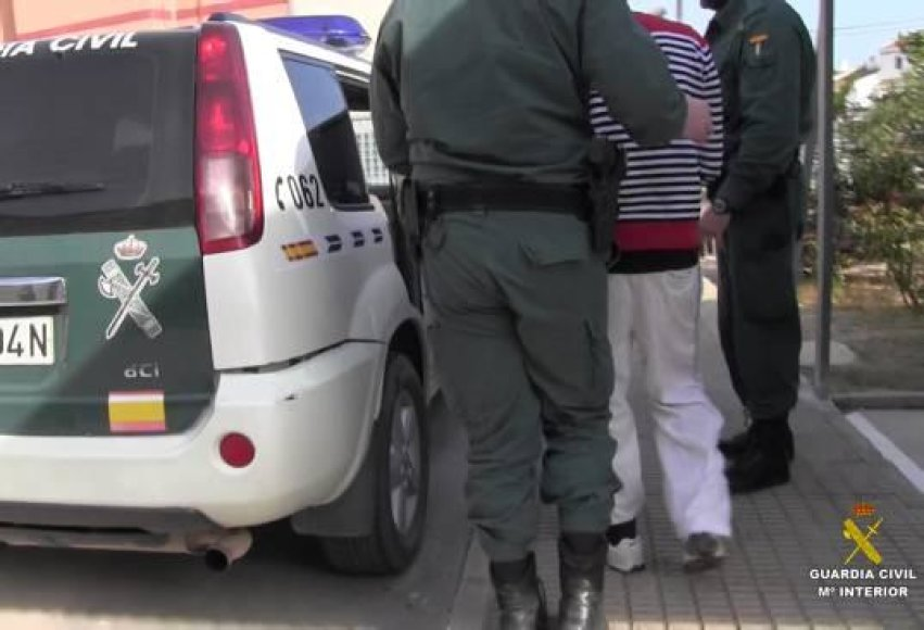 Ispanijoje sulaikytas narkotikų prekeivis