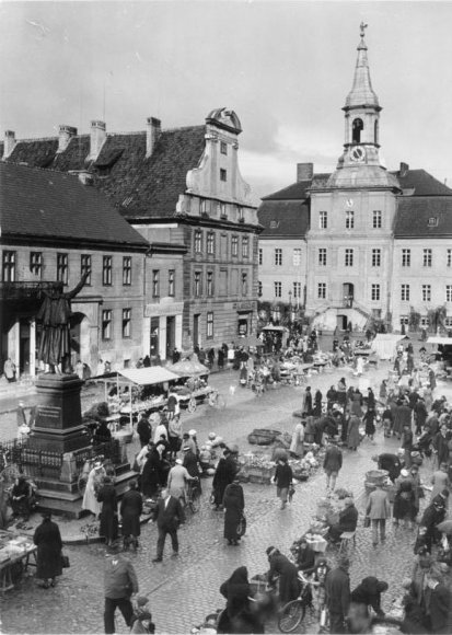 Tilžės turgaus aikštė (1930 m.)