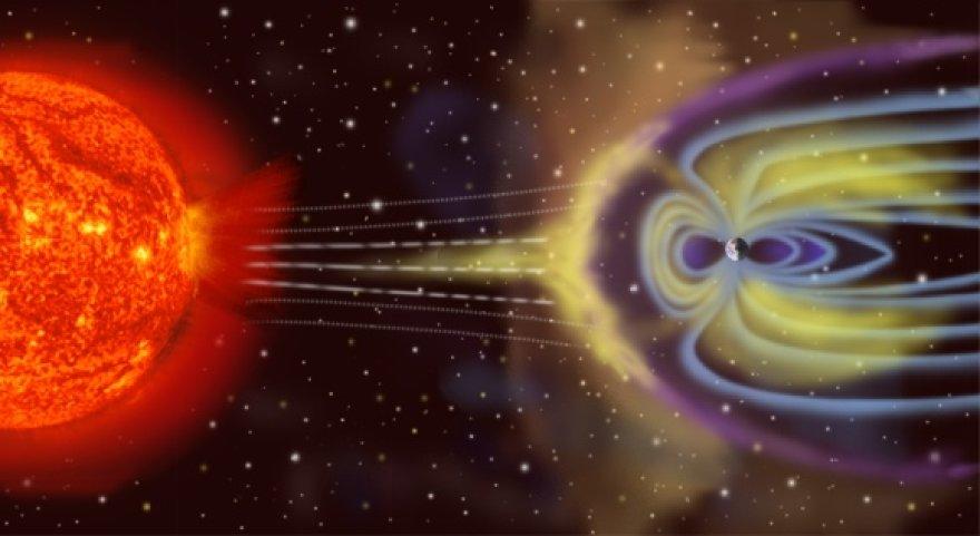 Nuožmusis Saulės vėjas Žemės magnetinį lauką bombarduoja ir jo tvirtumą išbando nuolat. Jei tokio skydo staiga neliktų, Žemės laukia artimiausių kaimynių – Veneros ar Marso – likimas.