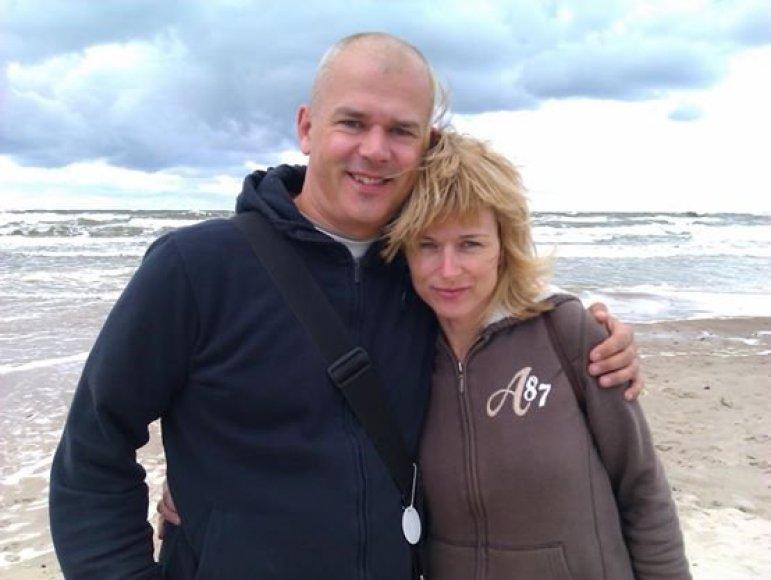 Tomas ir Akvilė Dobrovolskiai
