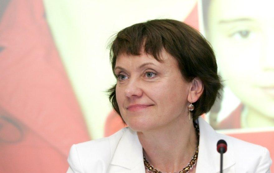 Europos lyčių lygybės instituto direktorė Virginija Langbakk
