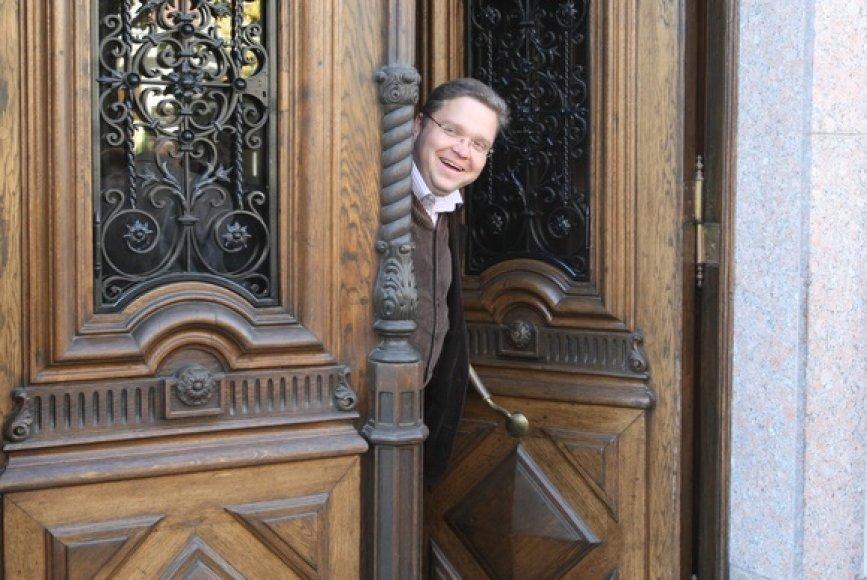 Banko Valdybos pirmininkas Vitas Vasiliauskas