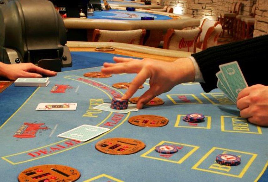 Drastiškai mažėjančios lošimų namų pajamos gali lemti jų skaičiaus sumažėjimą.