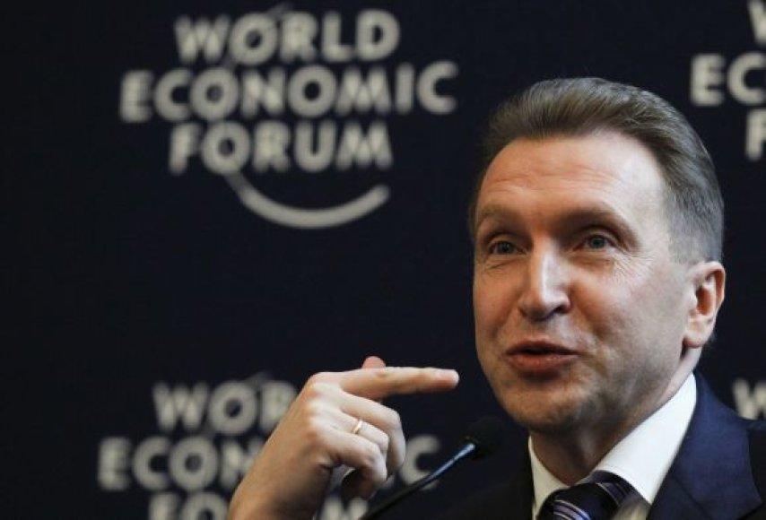 Rusijos premjero pavaduotojas Igoris Šuvalovas
