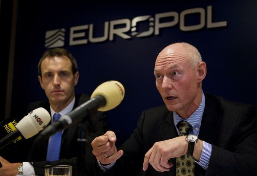 Europolo pareigūnai