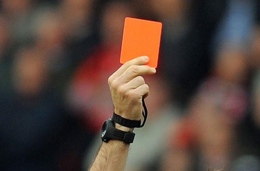 Raudonoji kortelė
