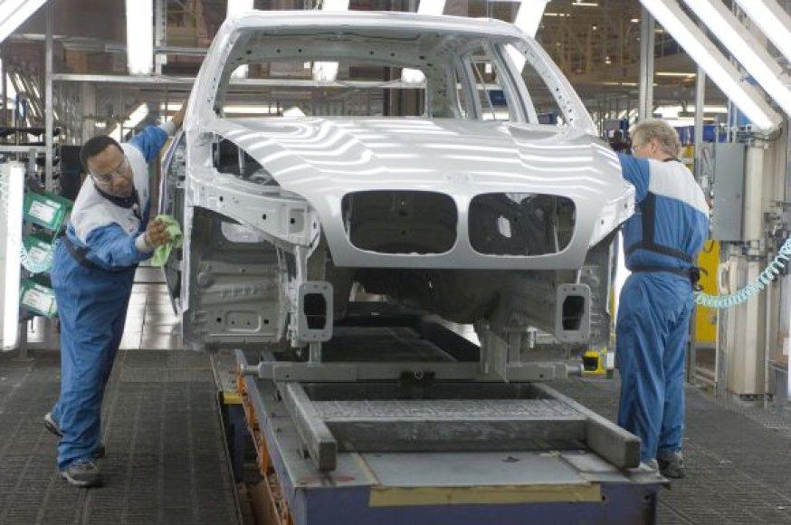 BMW gamykla