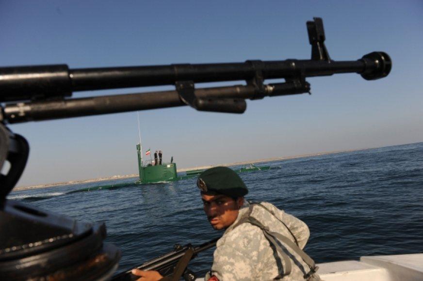 Irano karinis laivynas
