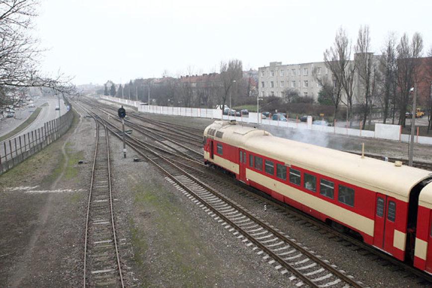 Geležinkelis Klaipėdoje