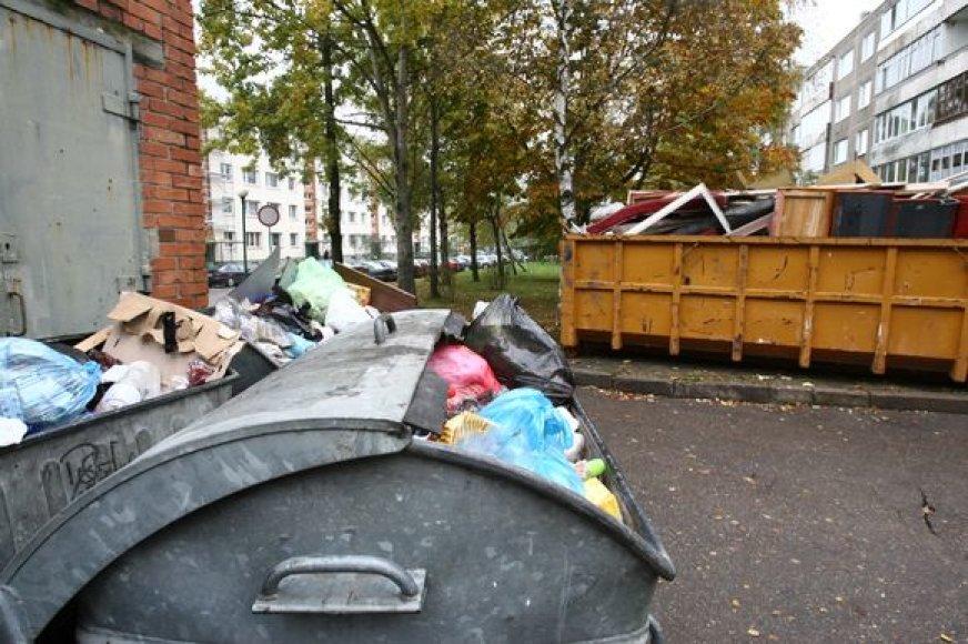 Buitinių atliekų konteineriai