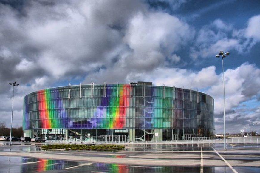 Šiaulių krepšinio arena talpina 5,5 tūkst. žiūrovų