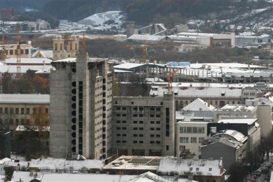 Kauniečius ir miesto svečius šiurpinantis pastatas turi vilčių vėl sulaukti statybininkų.