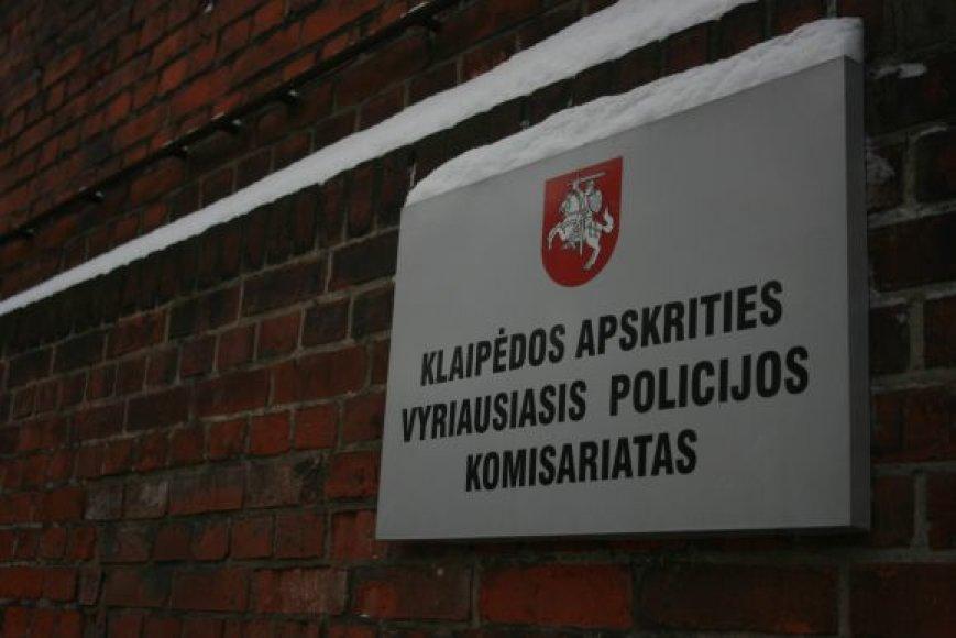 Klaipėdos vyriausiasis policijos komisariatas.