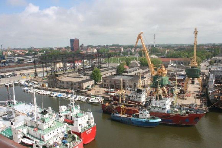 Klaipėdos uostas.