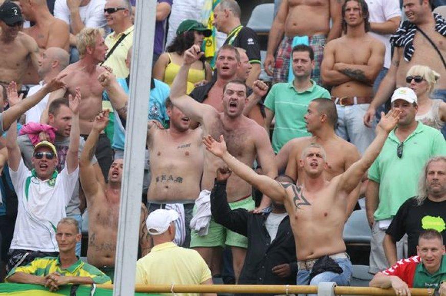Įžūliausi futbolo chuliganai sulaukė atpildo.