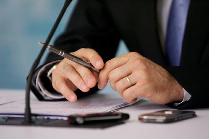 Vadovas atsakingas už savo įmonės veiksmus.