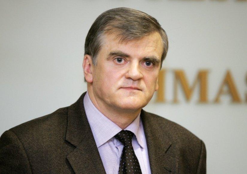 Lietuvos bankų asociacijos prezidentas Stasys Kropas