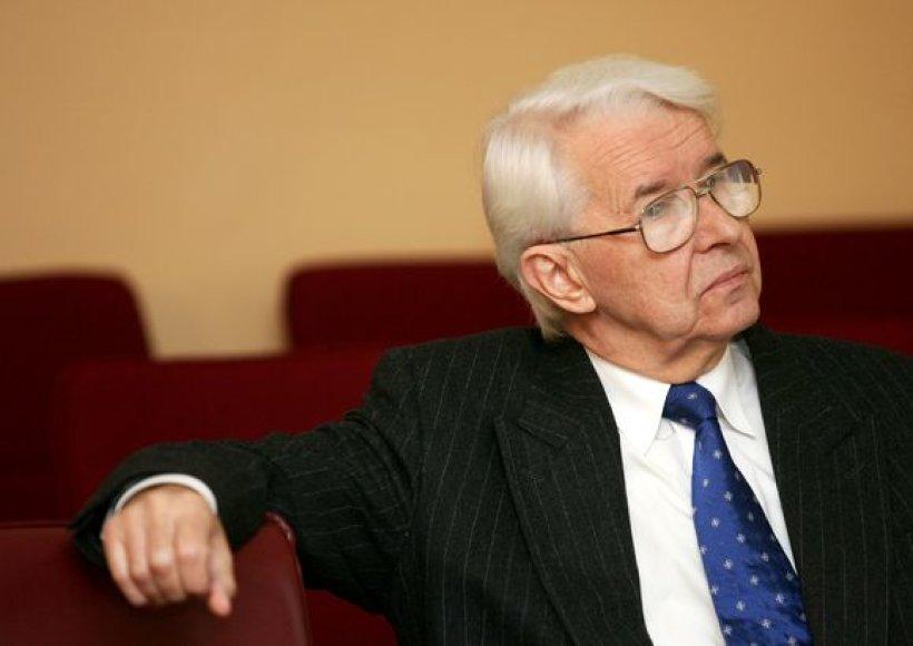 VU rektorius B.Juodka