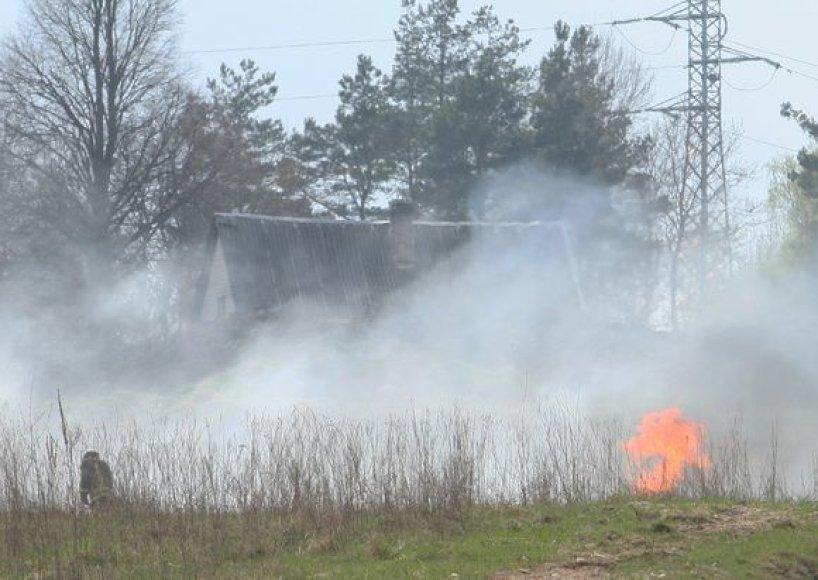 Kur kas didesnį galvos skausmą pastaruoju metu ugniagesiams kelia ne automobilių gaisrai, bet žolės deginimas. Tačiau degintojų Lietuvoje nesutramdo nei gresiančios baudos, nei mirtini pavojai.