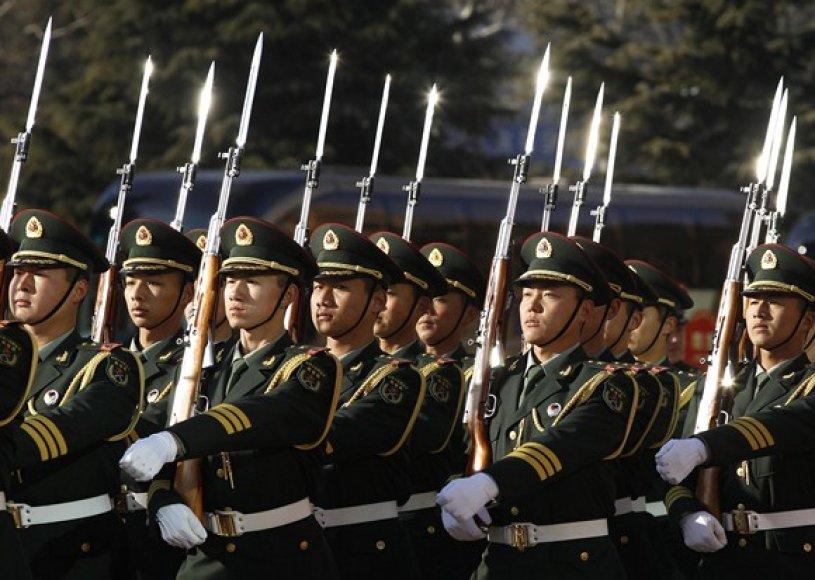 Kinijos armijos nariai