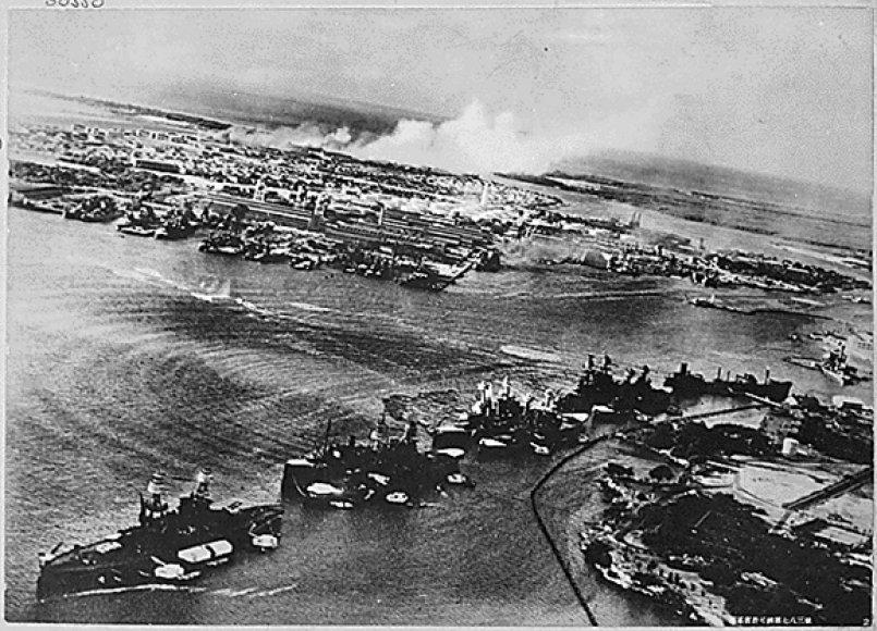 Perl Harboras 1941 m. gruodžio 7 d.
