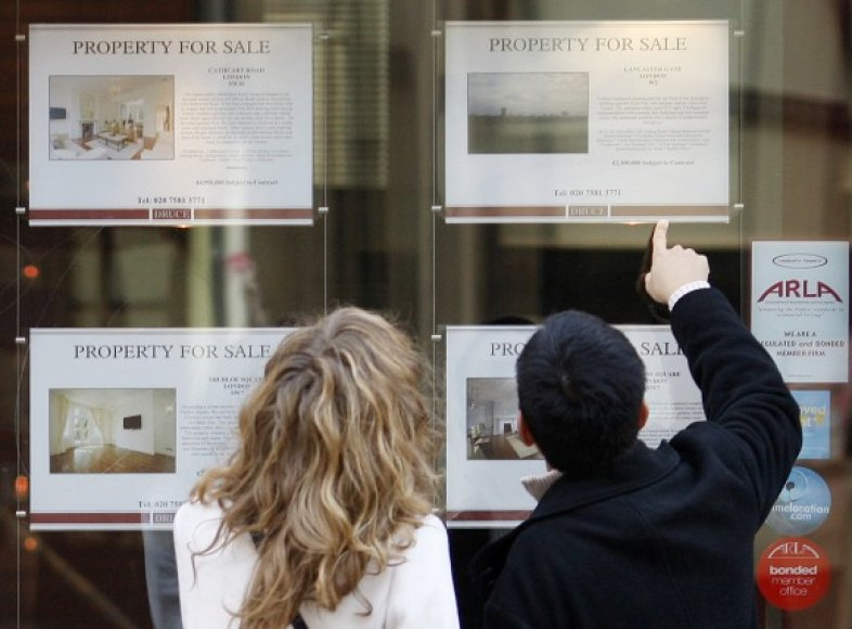 Londone neklinojamojo turto pasirinkimas – didelis.