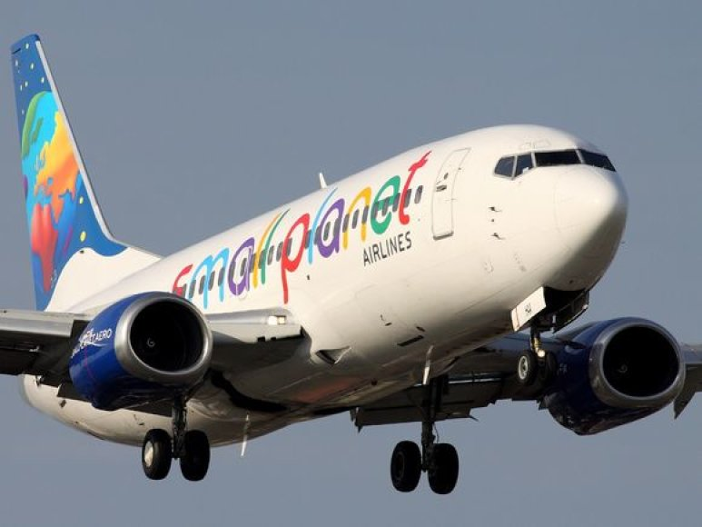 """Small Planet Airlines"" lėktuvas"