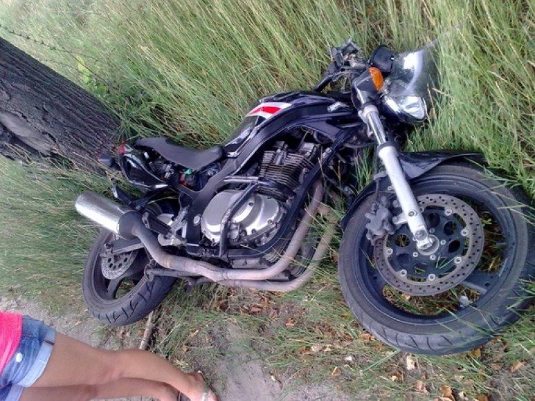 Motociklo avarija
