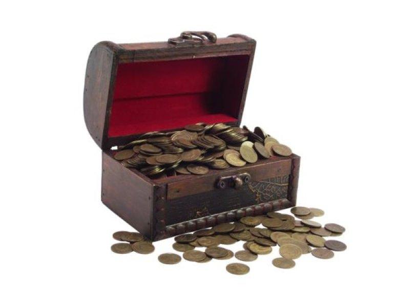 Skrynia su monetyomis