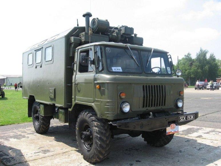 GAZ-66. Asociatyvinė nuotr.