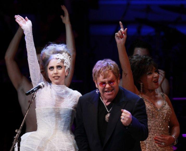 Lady Gaga ir Eltonas Johnas