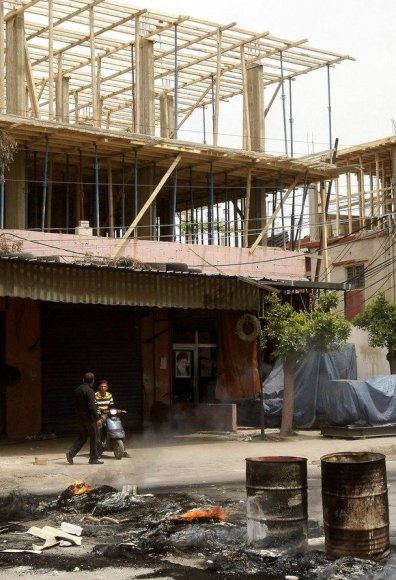 Nelegaliai statomas pastatas