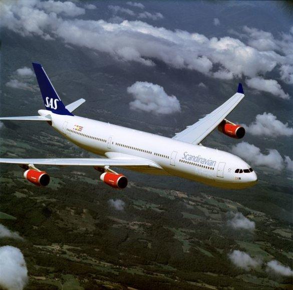 """SAS lėktuvas """"Airbus 340"""""""