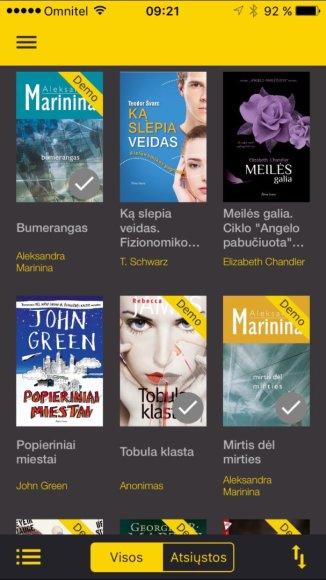 """""""Milzinas"""" – vartototojo nupirktos knygos"""
