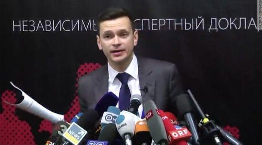 Ilija Jašinas pristato ataskaitą apie Ramzaną Kadyrovą