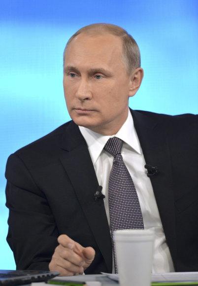 Vladimiro Putino konferencija